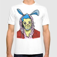 Trix Are For Kids Mens Fitted Tee White SMALL