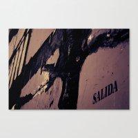Salida Canvas Print