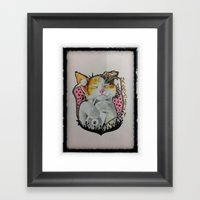 Drawing By Reeve Wong Framed Art Print