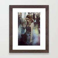 Anablephobia Framed Art Print