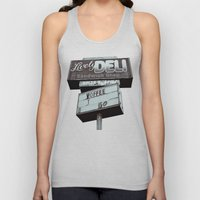 Old Deli Sign Unisex Tank Top