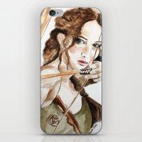 Mockingjay. Katniss Everdeen. iPhone & iPod Skin
