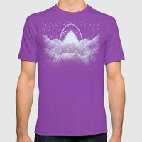 Mathemystics - Void Mens Fitted Tee Ultraviolet SMALL