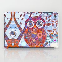 If Klimt Painted An Owl … iPad Case