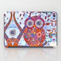 If Klimt Painted An Owl … iPad Case