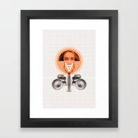 Apologizes Framed Art Print