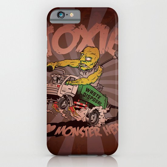 I (HEART) MONSTER HERO iPhone & iPod Case