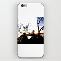 steel trees iPhone & iPod Skin