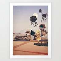 Fear and Loathing on Tatooine Art Print