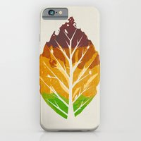 iPhone & iPod Case featuring Leaf Cycle by Leo Canham