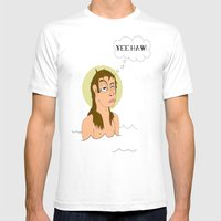 St. Cleatus The Babtist … Mens Fitted Tee White SMALL