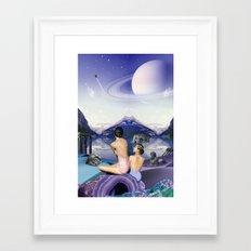 Titan's Oreads Framed Art Print