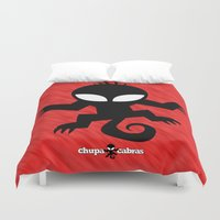 CHUPACABRAS - Red Edition Duvet Cover