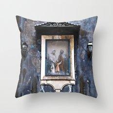 Sicilian Facade Of CATAN… Throw Pillow