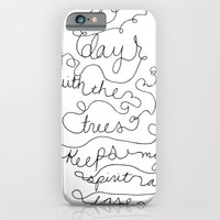 iPhone & iPod Case featuring a day with the trees by Megan Louise
