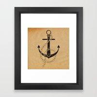 Anchor Print Framed Art Print