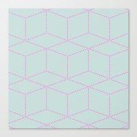 Cube! Canvas Print