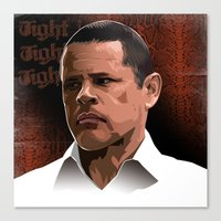 Canvas Print featuring Breaking Bad Illustrated - Tuco Salamanca by Martin Woutisseth