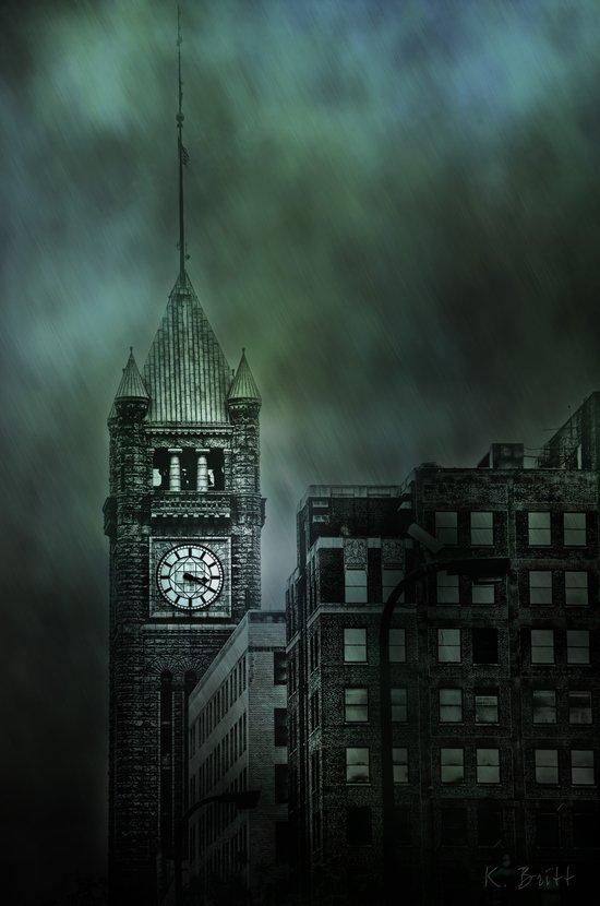 Spotlight On Time Art Print