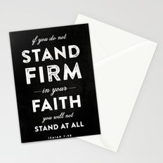 Isaiah 7:9b Stationery Cards