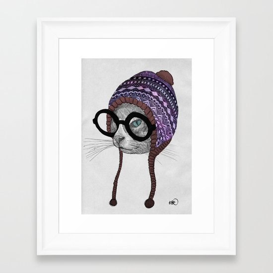 foolishness is in the eye of the beholder - 50 sold products special edition: outer späce Framed Art Print