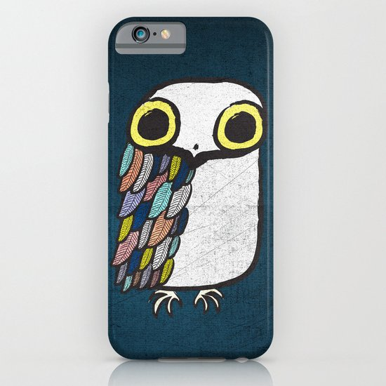 Wise Little Owl iPhone & iPod Case