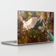 Laptop & iPad Skin featuring Of Mice And Owls by Taylor Rose