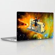 Barbara's Spaceship Laptop & iPad Skin