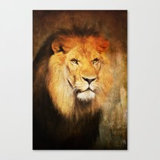 The King's Portrait Canvas Print