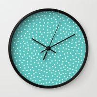 Dots. Wall Clock