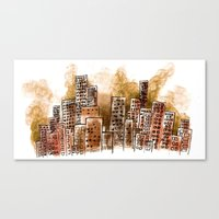 Bicho Canvas Print