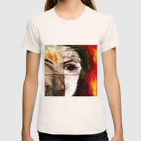 Mystery Womens Fitted Tee Natural SMALL