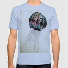 Jelly Mens Fitted Tee Athletic Blue SMALL