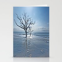 Natural Beach Stationery Cards