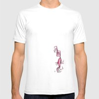 Shrimp! Mens Fitted Tee White SMALL