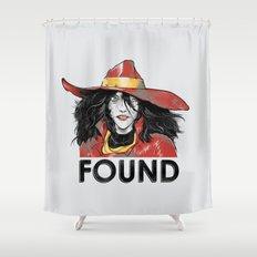 Found Shower Curtain