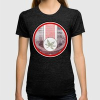 The Buckeye State Womens Fitted Tee Tri-Black SMALL