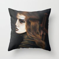 Bloodthirsty Throw Pillow