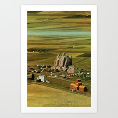 51 Atmosphere · Delivering the goods Art Print
