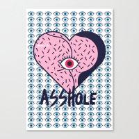 Asshole (Part I) Canvas Print