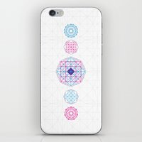 Geometric Scream iPhone & iPod Skin