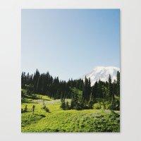 Mt Rainier Shooter Canvas Print