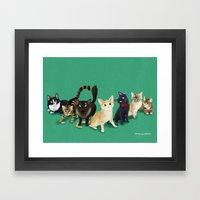 CH Kitties Framed Art Print