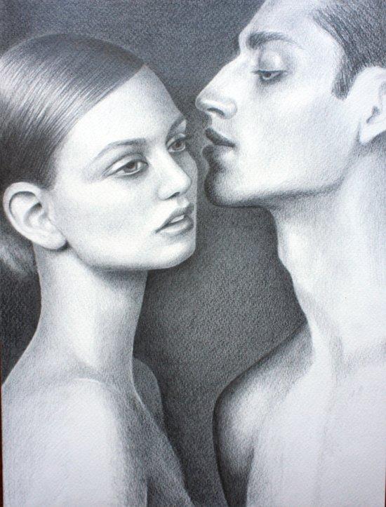 Est-ce que tu m'aimes? Art Print