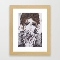 CLAUDIA Framed Art Print