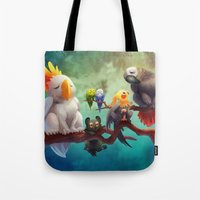 Griffins of a Feather Tote Bag