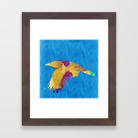 The rook #VIII Framed Art Print
