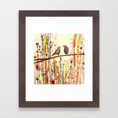 les gypsies Framed Art Print