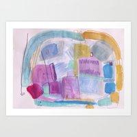 Hippie Names Art Print