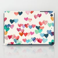 Heart Connections - Wate… iPad Case